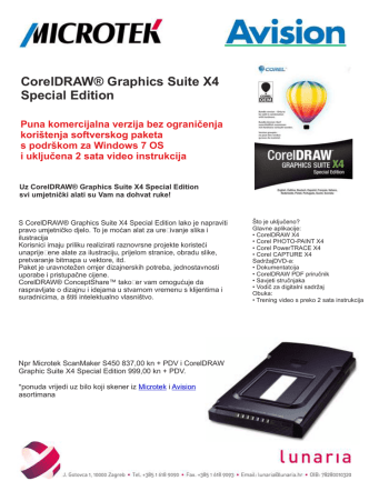 CorelDRAW® Graphics Suite X4 Special Edition