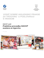 Vodič DHP i HACCP za trgovine