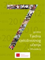 Sedam godina Tjedna cjeloživotnog učenja u Hrvatskoj
