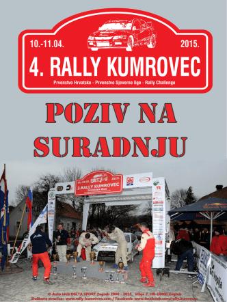 4. Rally Kumrovec - poziv na suradnju
