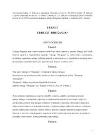 Statut Udruge Breganja pdf