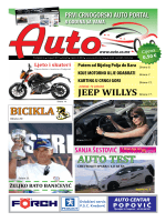 Auto časopis: avgust 2011