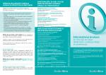 Informativna brošura za one koji se bave delatnošću vođenja