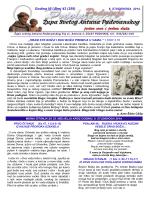 ŽUPNI LISTIĆ (br. 43/259) - Župa Svetog Antuna Padovanskog