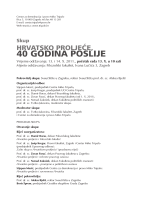 40 GODINA POSLIJE - Centar za demokraciju i pravo Miko Tripalo