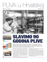 SLAVIMO 90 GODINA PLIVE