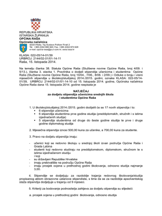 1_Natjecaj_stipendije 2014.pdf