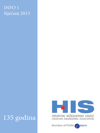 135 godina - Hrvatski inženjerski savez