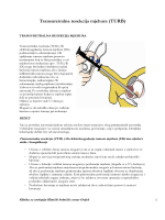 Transuretralna resekcija mjehura (TURB)
