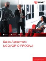 Sales Agreement - English-Croatian