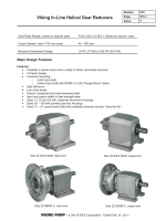 Viking In-Line Helical Gear Reducers