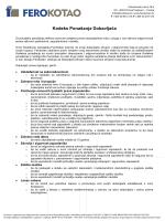Kodeks Ponašanja Dobavljača