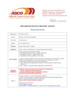 Raspis za mart 2015 - atletski savez crne gore