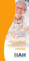 Treća dob i sigurnost hrane - Hrvatska agencija za hranu