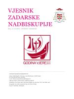 vjesnik 11-12 2013 - Vjesnici Zadarske nadbiskupije