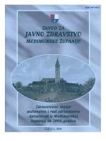 publikacije - Zavod za javno zdravstvo Međimurske