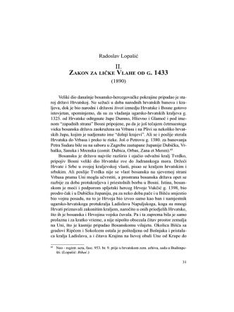 04-Radoslav Lopasic_Zakon za licke Vlahe od g. 1433 (1890)