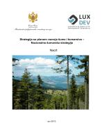 Strategija sa planom razvoja šuma i šumarstva