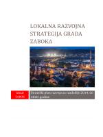 Lokalna razvojna strategija grada Zaboka 12.11.2014.