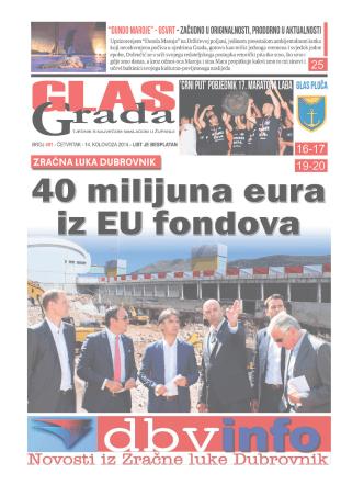1 GlasGrada - 491 - četvrtak 14. 8. 2014.