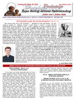 ŽUPNI LISTIĆ (br. 26/242) - Župa Svetog Antuna Padovanskog