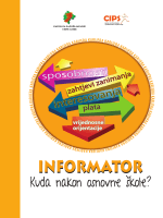"""informator """"kuda nakon osnovne škole"""" 2014"""