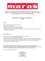 DIZAJNER INTERIJERA / DEKORATER (m/ž)