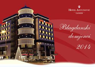 Blagdanski domjenci u Hotelu Antunović Zagreb svečani meni I