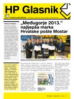 HP Glasnik - Hrvatska pošta Mostar