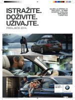 Ideje za BMW dodatke, servis i Lifestyle. Proljeće/ljeto 2014.