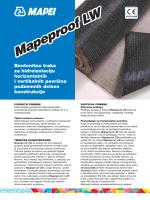 Mapeproof LW