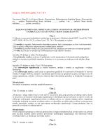 Zakon o izmjenama i dopunama Zakona o osnovama sigurnosti