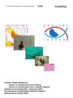 PJI_2005_First_draft.. - Centar za istraživanje mora, Institut ruđer