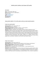 Godišnji narativni izvještaj o radu Udruge za 2013