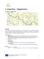 3. etapa Pécs – Nagykanizsa