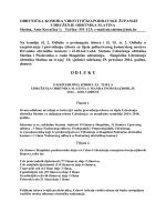 O D L U K U - Udruženje obrtnika Slatina