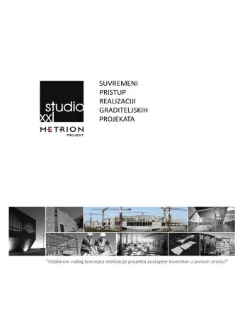 1. PDF: Brošura METRION PROJEKT