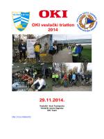 triatlon 2014 raspis - Veslački savez Zagreba