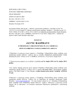 UPU Krković – ponovna javna rasprava