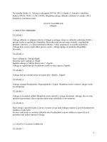 Na temelju članka 11. Zakona o udrugama (NN br. 88/1) i članka 5