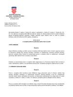 Odluka o socijalnoj skrbi na području Općine Hum na Sutli