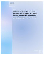 prevencija vršnjačkog nasilja i promocija zdravih stilova života