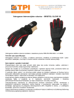 Bristol FIREMASTER FUSION vatrogasne rukavice HR