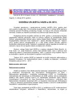 GODIŠNJI IZVJEŠTAJ HGZD-a ZA 2013.