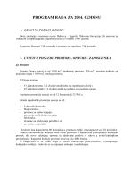 PROGRAM RADA DOMA U 2014. g. - Dom za starije i nemoćne