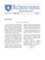 Službeni vjesnik 4-2014