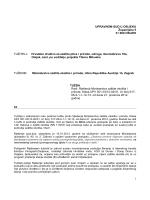 Tužba - hrvatsko društvo za zaštitu ptica i prirode