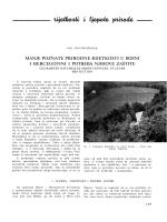 manje poznate prirodne rijetkosti u bosni i hercegovini i potreba