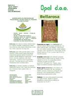Bellarosa ima niske do srednje zahtjeve kada su u pitanju zemljište i