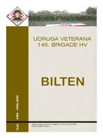 aktivnosti - Udruga veterana 145.brigade HV